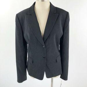 Tahari ASL Women's Pinstriped Blazer/Jacket Sz 16